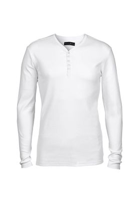 Solid Longsleeve Men PHILIP GRANDAD White