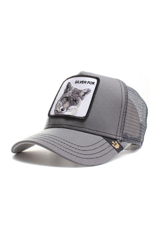 Goorin Bros. Trucker Cap SILVER FOX Grau – Bild 0