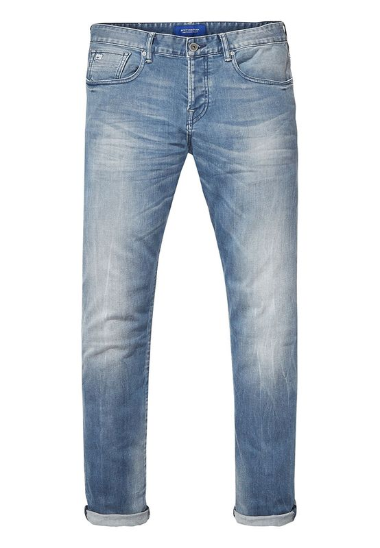 Scotch & Soda Jeans Men RALSTON 135142 Moonshine Blue PZ Ansicht