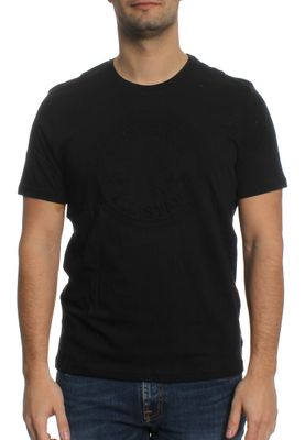 Converse T-Shirt Men EMBOSSED CP 10001259 Schwarz 001 – Bild 0