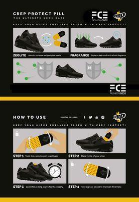 Crep Protect PILL The ultimate shoe freshener – Bild 3