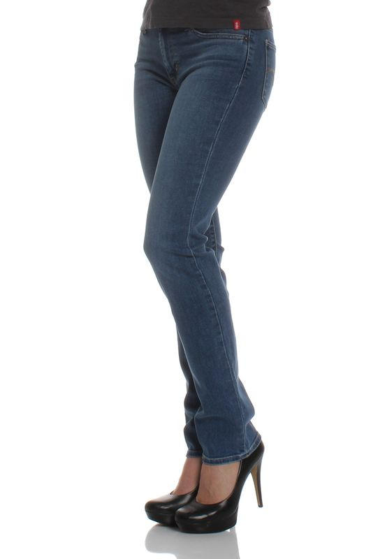 Levis Jeans Women 712 SLIM 18884-0067 Blue Vista – Bild 3