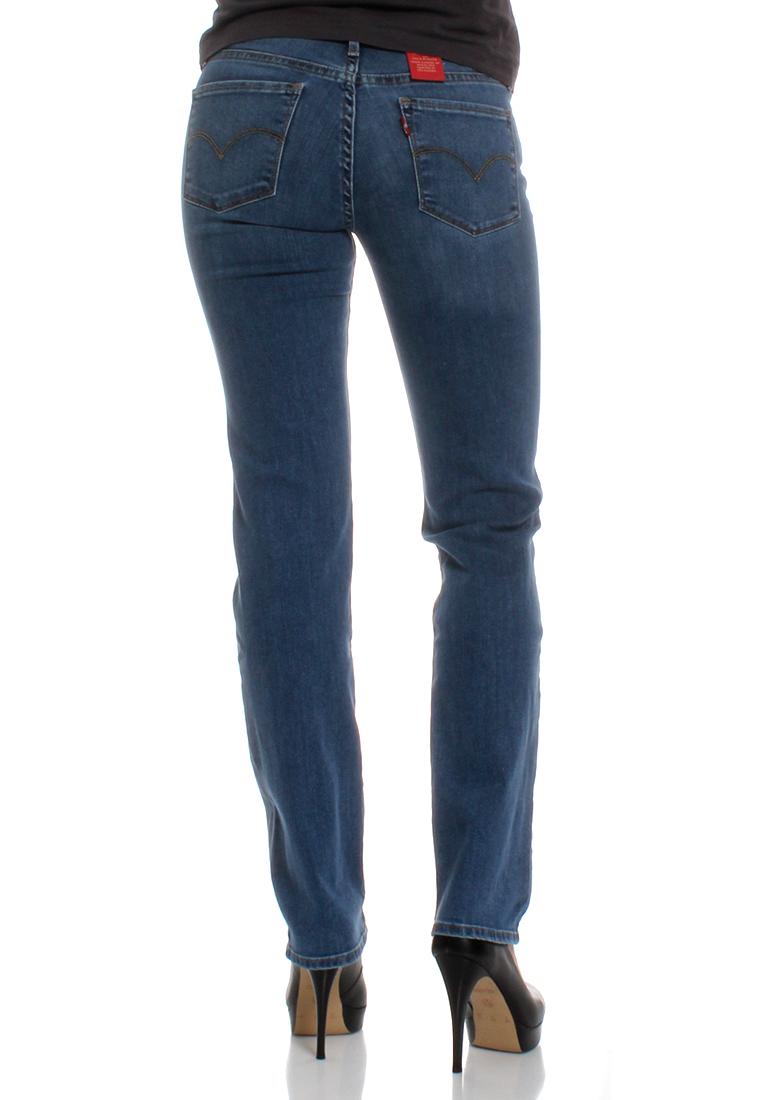 levis jeans women 714 straight 21834 0025 blue vista damen. Black Bedroom Furniture Sets. Home Design Ideas