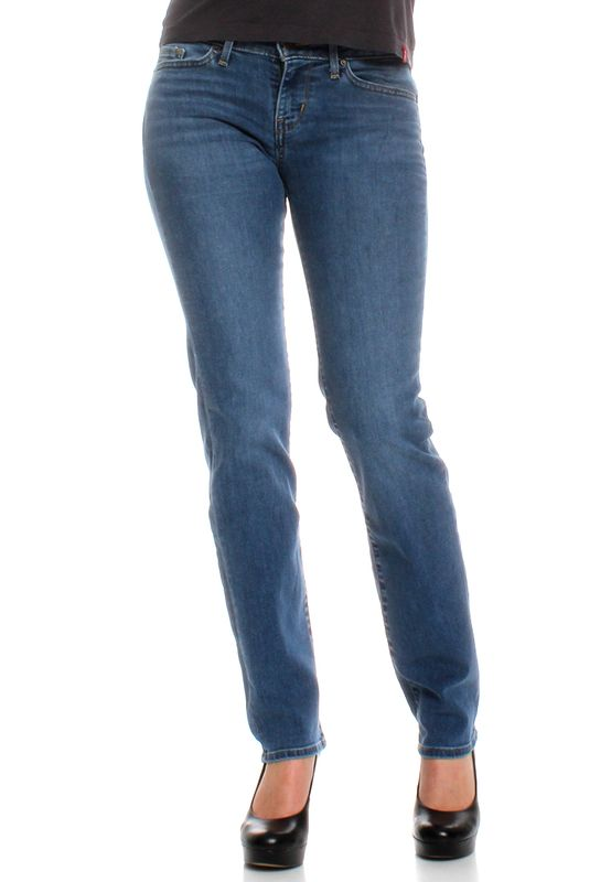 Levis Jeans Women 714 STRAIGHT 21834-0025 Blue Vista – Bild 0