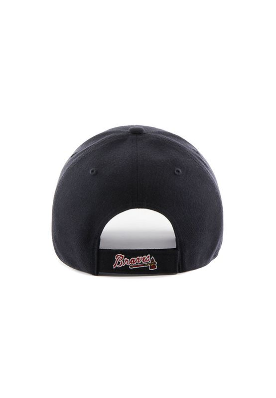 47 Brand MVP01 Adjustable Cap ATLANTA BRAVES Dunkelblau – Bild 1