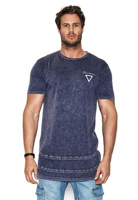 Nena & Pasadena T-Shirt Men DESTROYER Acid Insignia Blue – Bild 0