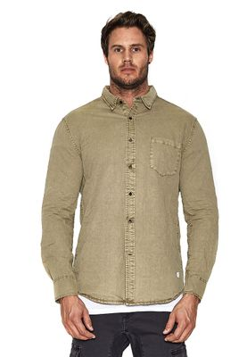 Nena & Pasadena Hemd Men AIRWOLF Khaki – Bild 2