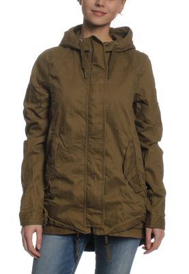 Superdry Parka Women NEW MODEL ROOKIE PARKA Burnished Olive – Bild 0