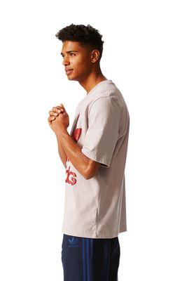Adidas T-Shirt Men AC BOXY TEE BR8702 Taupe – Bild 3