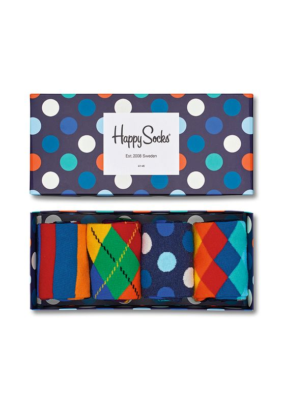 Happy Socks Geschenkbox MIX GIFT BOX XMIX09-6000 Navy – Bild 0