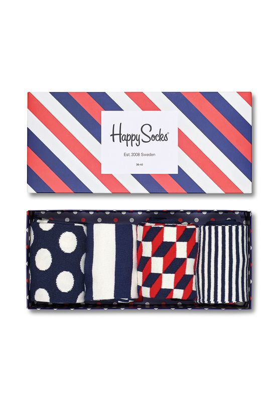 Happy Socks Geschenkbox BIG DOT GIFT BOX XBDO09-6000 Navy – Bild 0