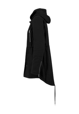 Urban Classics Ladies Sherpa Lined Cotton Parka TB1370 Black – Bild 3