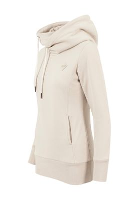 Urban Classics Ladies Long Logopatch Hoody TB1328 Sand – Bild 1