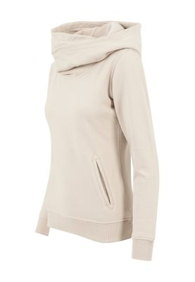 Urban Classics Ladies High Neck Hoody TB1327 Sand – Bild 1
