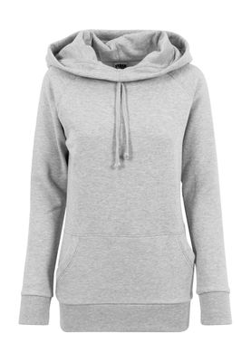 Urban Classics Ladies High Neck Raglan Hoody TB1526 Grey – Bild 0