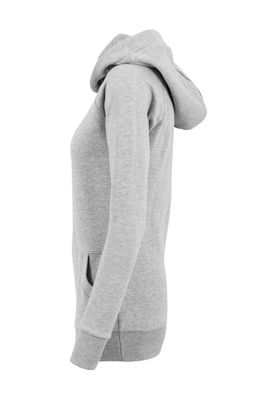 Urban Classics Ladies High Neck Raglan Hoody TB1526 Grey – Bild 3