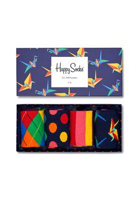 Happy Socks Geschenkbox ORIGAMI GIFT BOX XORI09-6000 Navy – Bild 0