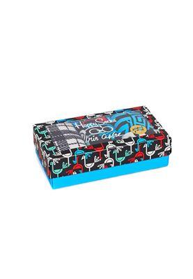 Happy Socks Geschenkbox IRIS APFEL SOCK BOX XIR08-9050 Grau – Bild 1