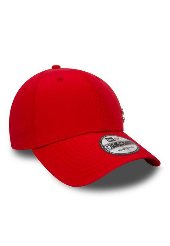 New Era MLB Flawless Logo 9Forty Adjustable Cap NY YANKEES Rot – Bild 1
