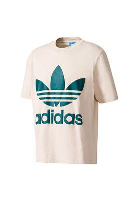 Adidas T-Shirt Men AC BOXY TEE BK7172 Beige – Bild 0