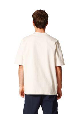 Adidas T-Shirt Men AC BOXY TEE BK7172 Beige – Bild 3