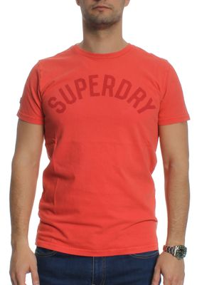 Superdry T-Shirt Men SOLO SPORT SS Sunkissed Red – Bild 0