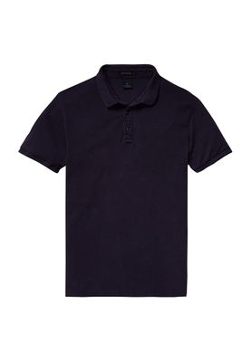 Scotch & Soda Polo Men GARMENT DYED POLO 136522 Dunkelblau 0004