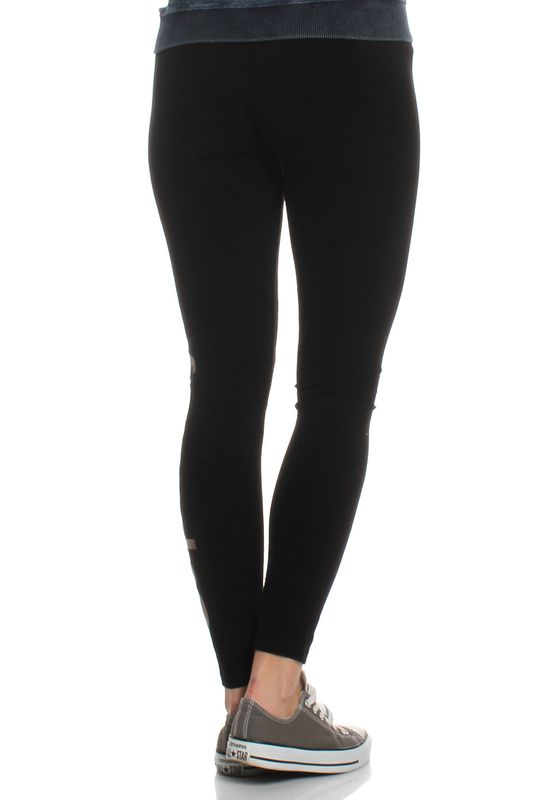 Superdry Leggings Women GLITTER LOGO LEGGING Black – Bild 2