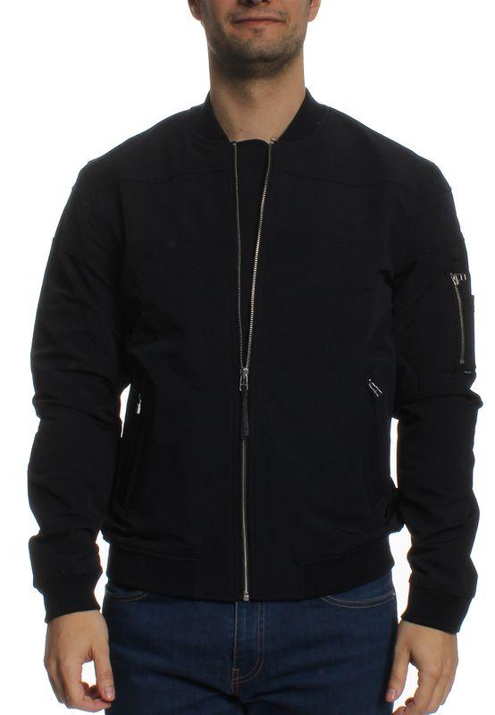 Khujo Jacke Men HEMP Deep Sea Ansicht