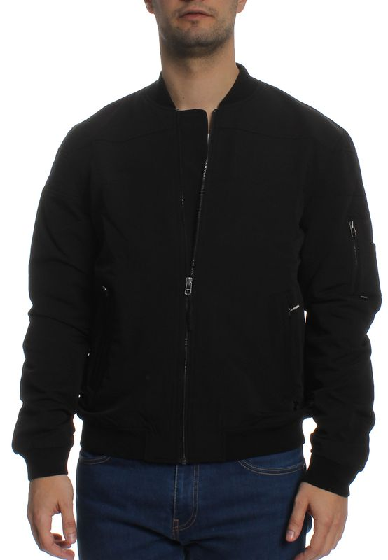 Khujo Jacke Men HEMP Black – Bild 0