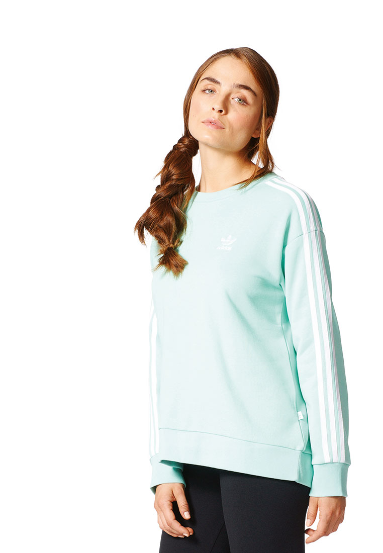 adidas mint pullover
