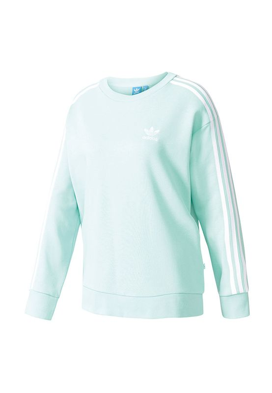 Adidas Pullover Women 3S A-LINE SWEAT BJ8204 Mint – Bild 0