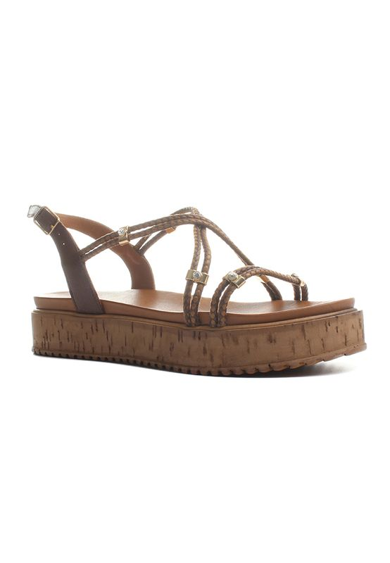 Inuovo Sandalen Women 7133 Dark Brown – Bild 2