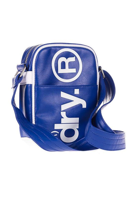 Superdry Citybag FESTIVAL BAG Baseball Blue – Bild 1