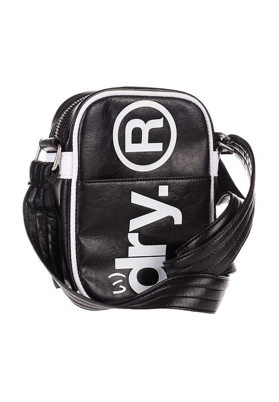 Superdry Citybag FESTIVAL BAG Black – Bild 1