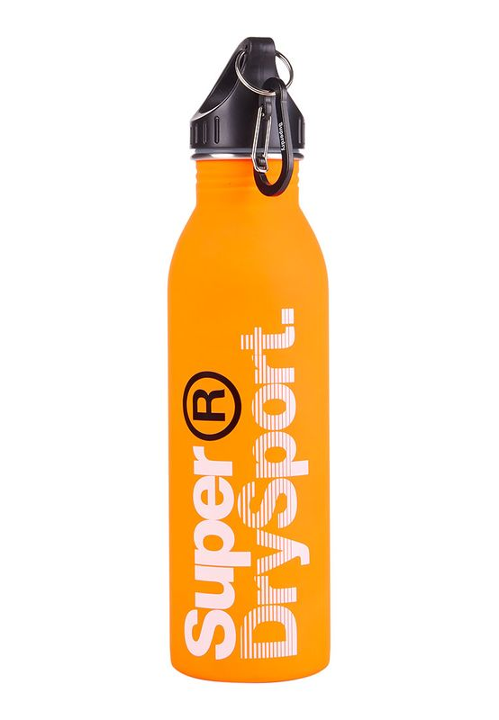Superdry Trinkflasche STEEL SPORTS BOTTLE Jaffa White   – Bild 0