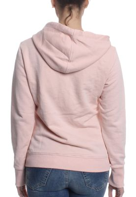 Superdry Zipper Women ATHLETIC LOOPBACK 90s Baby Pink Marl – Bild 1