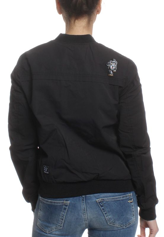 Khujo Übergangsjacke Women NAURU WITH BADGES Black – Bild 2