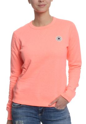 Converse Pullover Women CORE CREW 10001022 Orange 830 – Bild 0