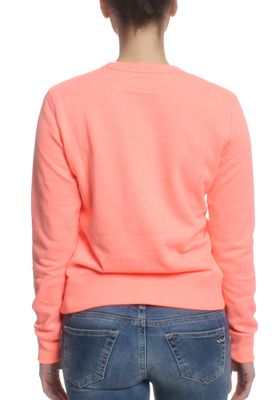 Converse Pullover Women CORE CREW 10001022 Orange 830 – Bild 1