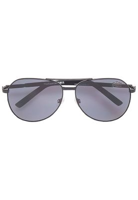 Superdry Sonnenbrille SUPER JET Rubberised Black Matt Black