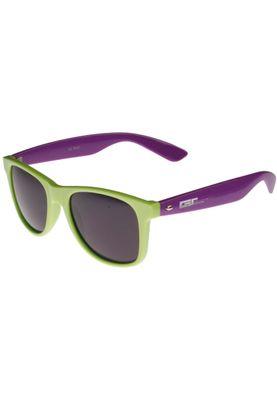 Masterdis Sonnenbrille Groove Shades Gstwo 10225 Limegreen Purple