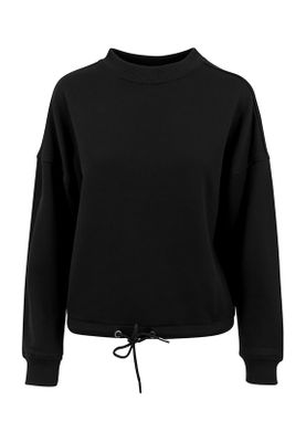 Urban Classics Ladies Oversized Crew TB1523 Black – Bild 0