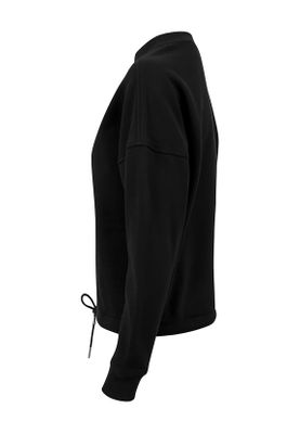 Urban Classics Ladies Oversized Crew TB1523 Black – Bild 3