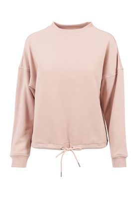 Urban Classics Ladies Oversized Crew TB1523 Light Rose – Bild 0