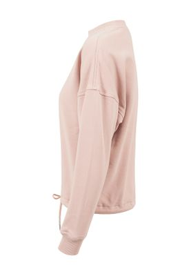 Urban Classics Ladies Oversized Crew TB1523 Light Rose – Bild 3