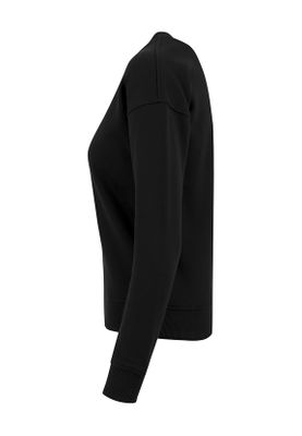 Urban Classics Ladies Sweat Crew TB1522 Black – Bild 3