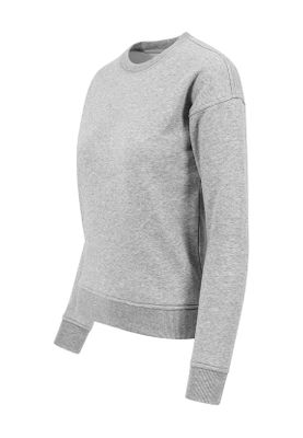 Urban Classics Ladies Sweat Crew TB1522 Grey – Bild 2