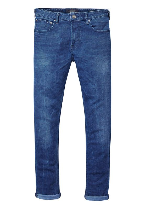 Scotch & Soda Jeans Men SKIM 137592 Blue Drag Light 1414 Ansicht