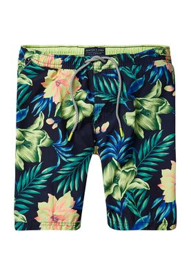 Scotch & Soda Badeshorts Men ALLOVER PRINTED 136688 Mehrfarbig 0461